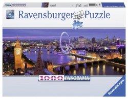 RAVENSBURGER 1000 EL. LONDYN NOCĄ PANORAMA PUZZLE 12+