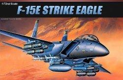 ACADEMY F-15E STRIKE EAGLE SKALA 1:72 8+