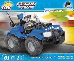 COBI ACTION TOWN POLICYJNY QUAD PATROLOWY 1547 5+