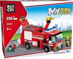 BLOCKI KLOCKI MYFIREBRIGDE 206 EL. AUTO STRAŻACKIE 6+