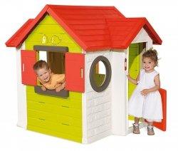 SMOBY DOMEK OGRODOWY MY HOUSE 810402 2+