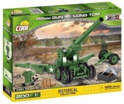 COBI HISTORICAL COLLECTION 155 MM GUN M1 LONG TOM 2394 6+