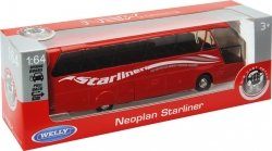 WELLY AUTOBUS NEOPLAN STARLINER SKALA 1:64