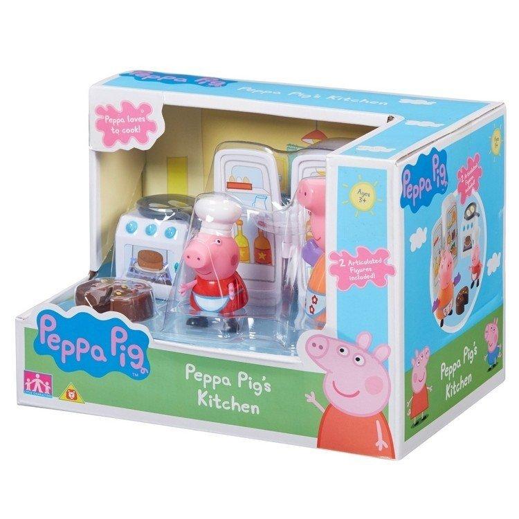 Tm Toys świnka Peppa Zestaw Kuchnia Figurki 3