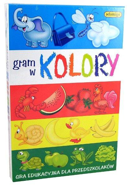 ADAMIGO GRA GRAM W KOLORY 4+