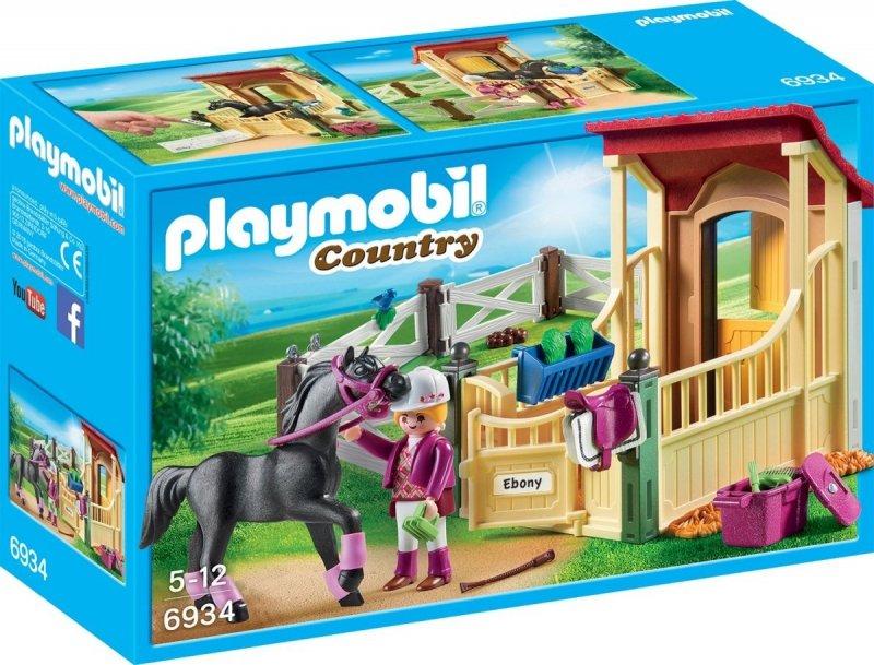 PLAYMOBIL BOKS STAJENNY - ARABER 6934 5+