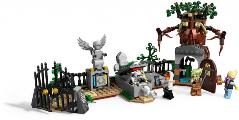 LEGO HIDDEN SIDE TAJEMNICZE CMENTARZYSKO 70420 7+
