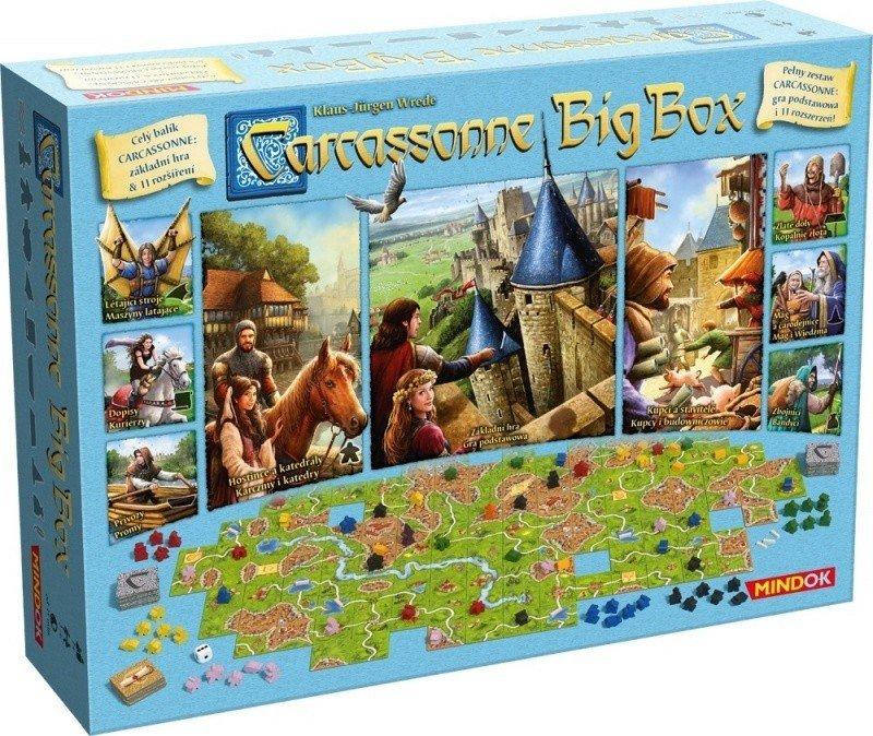 BARD GRA CARCASSONNE BIG BOX 6 7+