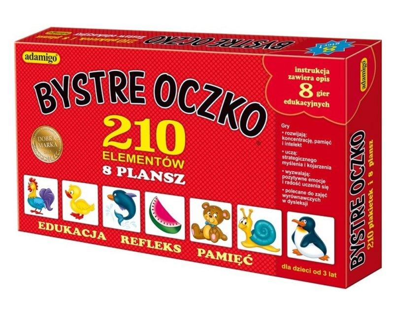 ADAMIGO GRA BYSTRE OCZKO 210 EL. 4+