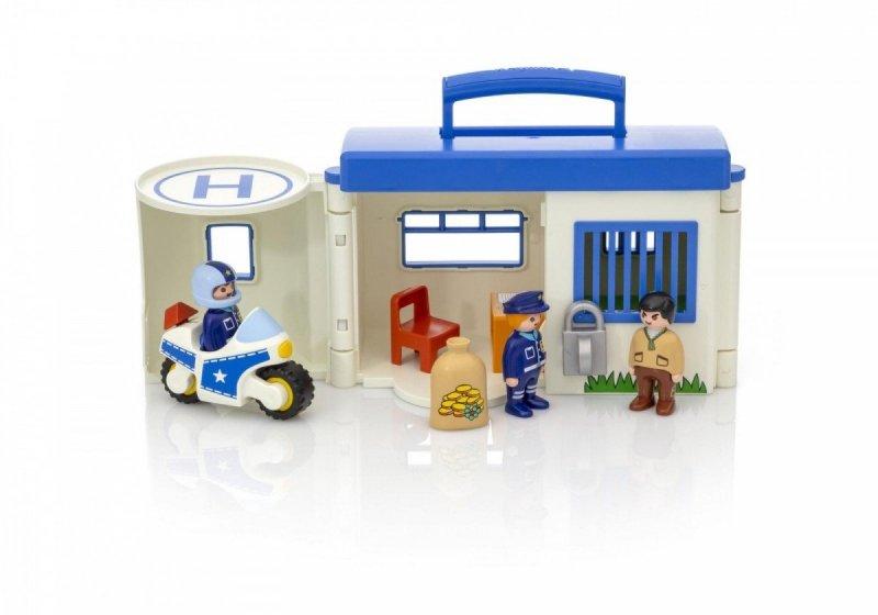 PLAYMOBIL 123 PRZENOŚNY KOMISARIAT POLICJI 9382 18M+