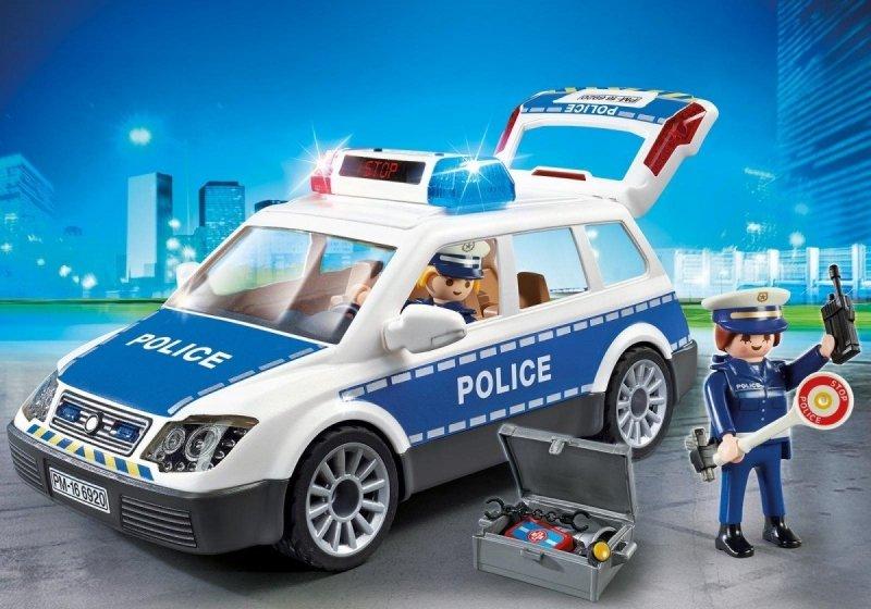 PLAYMOBIL CITY ACTION RADIOWÓZ POLICYJNY 6920 4+