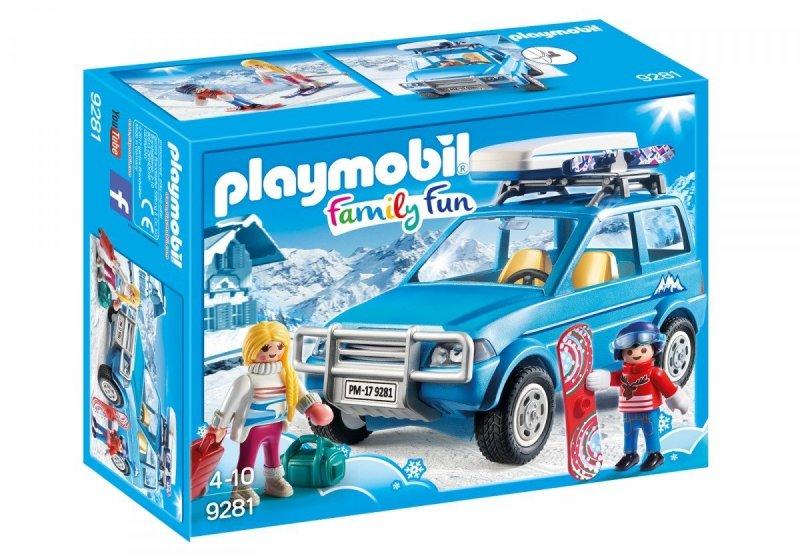 PLAYMOBIL AUTO Z BOXEM DACHOWYM 9281 4+
