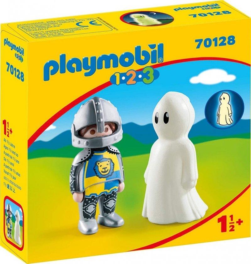 PLAYMOBIL 1-2-3 RYCERZ Z DUCHEM 70128 18M+