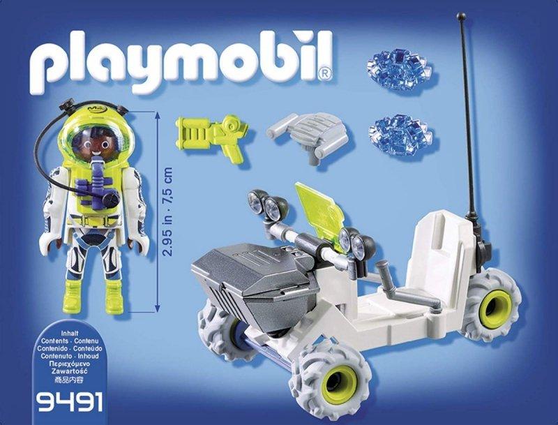 PLAYMOBIL SPACE ŁAZIK MARSJAŃSKI 42EL. 9491 6+