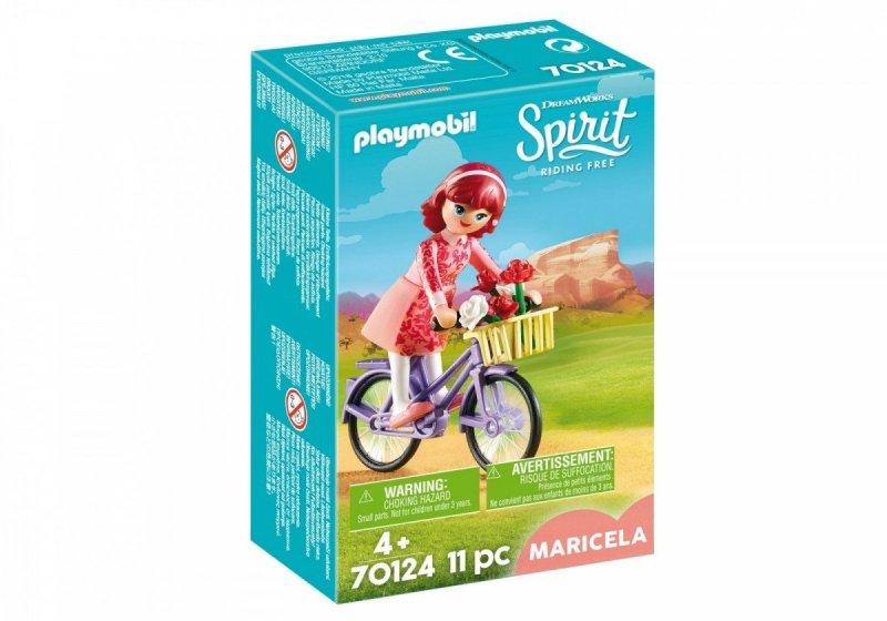 PLAYMOBIL SPIRIT RIDING FREE MARICELA Z ROWEREM 70124 4+
