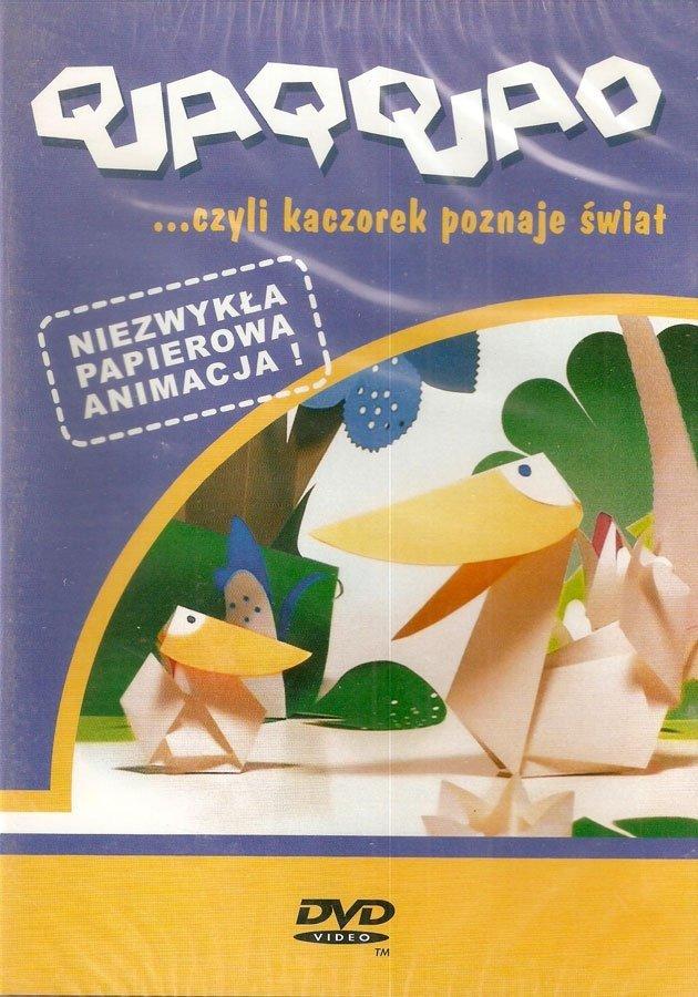 QUAQQUAO - CZYLI KACZOREK POZNAJE ŚWIAT - NIEBIESKI (DVD)