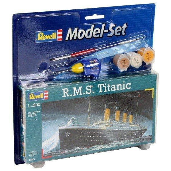 REVELL MODEL SET R.M.S. TITANIC 05804 SKALA 1:1200