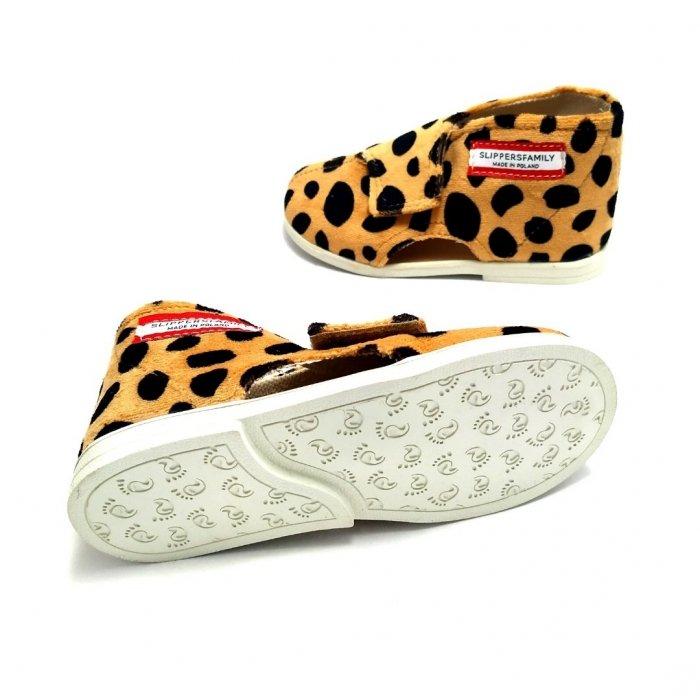 Kapcie dla dzieci Slippers Family Gepard