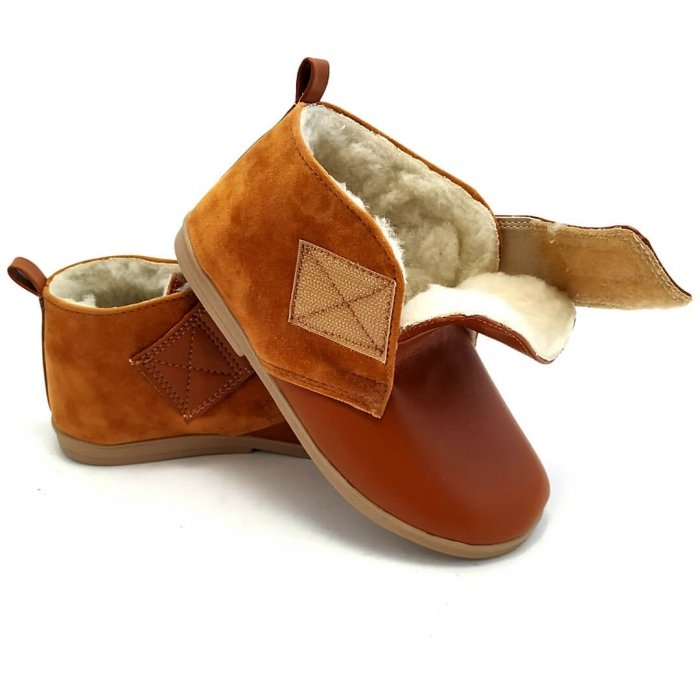 buty-dla-dzieci-ocieplane-slippers-family-fox