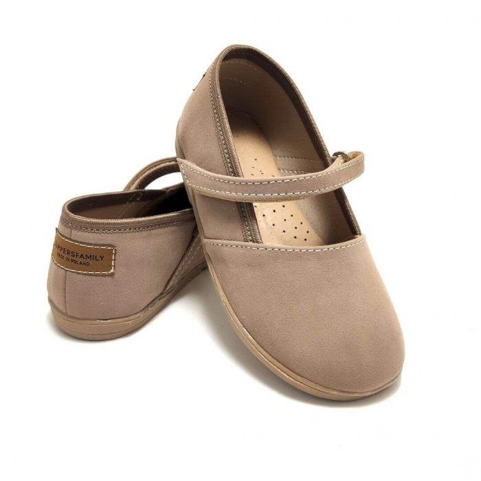 baleriny-dla-dzieci-slippers-family-basic-sand