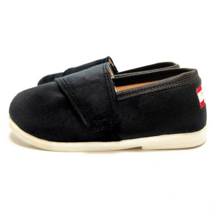 tenisowki-dla-dzieci-na-rzep-slippers-family-czarna-pantera