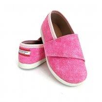 Buty dla dzieci na rzep Slippers Family Jeans Daisy