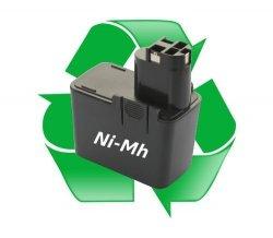 regeneracja akumulatora Ni-Mh - 9,6V do elektronarzędzi