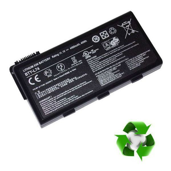MSI A5000, CR600, CR620, CR700, CX700 - 11,1V 6800 mAh