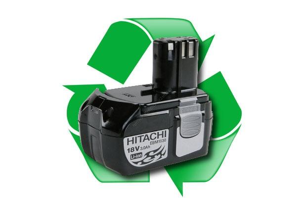 regeneracja akumulatora Hitachi EBM1830 18V 2,6Ah lub 3,0Ah