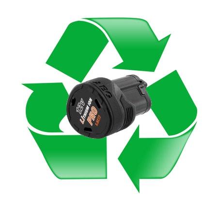 regeneracja akumulatora AEG L1215, L1215R - 12V 1,5Ah lub 1,3Ah