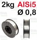 DRUT AlSi5 Ø 0,8 - 2KG