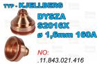 DYSZA S2016X - ø 1,6mm 160A-.11.843.021.416