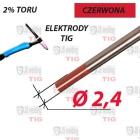 WT20 ELEKTRODA TIG CZERWONA Ø 2,4 mm