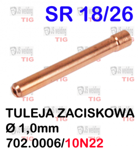 TULEJA Ø 1,0 MM WP26  SR26/SR18