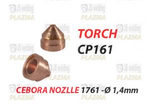 CP 161 - DYSZA- 1761 Ø 1,4 mm - 100 A