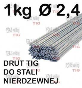 DRUT TIG DO STALI NIERDZEWNEJ Ø 2,4 mm