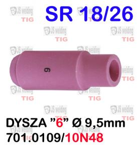 DYSZA6   9.5 X 47  10N48   SR26/SR18