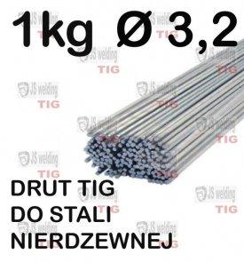 DRUT TIG DO STALI NIERDZEWNEJ Ø 3,2 mm