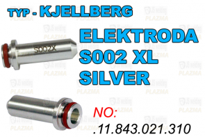 ELEKTRODA - S002X - XL SILVER O2 - .11.843.021.310AG