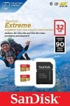SanDisk MicroSDHC Action SC 32GB Extreme 2Pack SDSQXNE-032G-GN6AT