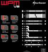 Sharkoon Wpm400 2X Pcie, Kabel-Management, Czarny