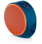 Logitech X100 Mobile Wireless Speaker,  orange, Bluetooth