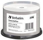 1x50 Verbatim DVD-R 4,7GB 16x wide printable NON-ID
