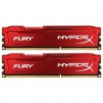Kingston HyperX DIMM 8 GB DDR3-1866 Kit HX318C10FRK2/8, Fury-Serie