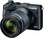 Canon EOS M6 Kit black + EF-M 3,5-6,3/18-150 IS STM
