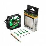 Nanoxia DS 1200 RPM 80x80x25, czarny/zielony