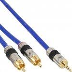 Kabel InLine 2x Cinch na Mini-Jack 3.5mm - 10m