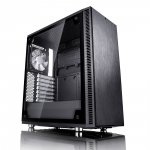 Fractal Design Define C TG Midi Tower czarny Okno
