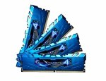 G.Skill DIMM 16 GB DDR4-2400 Kit,  blau, F4-2400C15Q-16GRB, Ripjaws 4 Blue