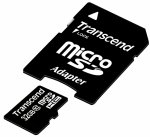 Transcend MicroSDHC Card    32GB + Adapter / Class 10